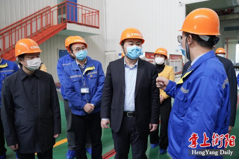 朱健赴雁峰區督導疫情防控和經濟平穩運行工作